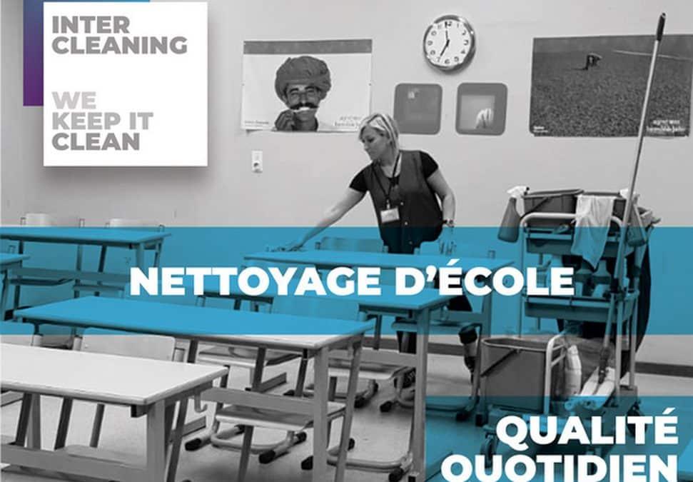 Pourquoi externaliser le nettoyage de votre école