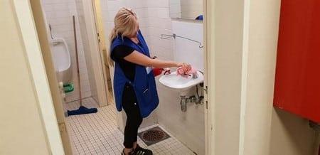 Entretien et nettoyage d'établissements scolaires