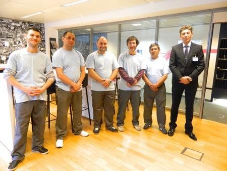 Inter Cleaning, entreprise de nettoyage, propose également des services de facility services, handyman et rénovation