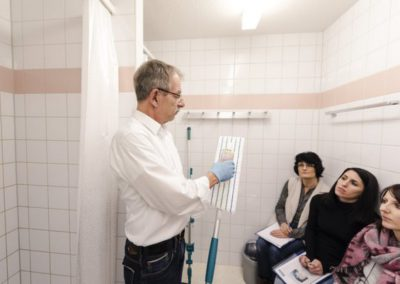 Agent de propreté - Formation Inter Cleaning