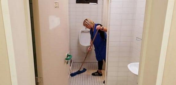 Nettoyage d'écoles