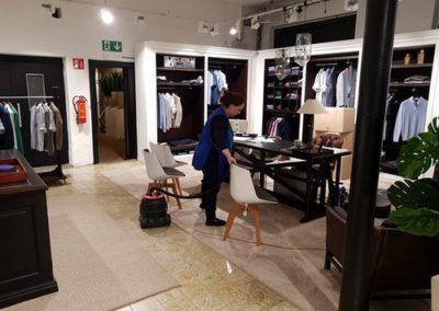 Nettoyage de magasins