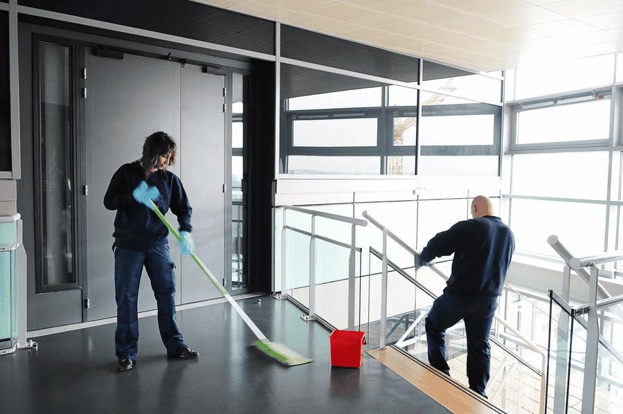Nettoyage d'immeubles